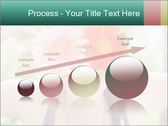 Colorful flowers PowerPoint Template - Slide 87