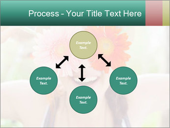 Colorful flowers PowerPoint Template - Slide 91