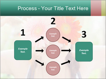 Colorful flowers PowerPoint Template - Slide 92