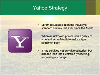 Beautiful Orange Sunrise PowerPoint Template - Slide 11