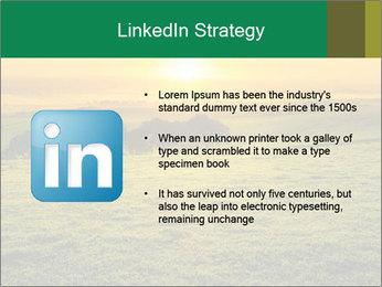 Beautiful Orange Sunrise PowerPoint Template - Slide 12