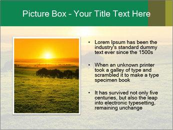 Beautiful Orange Sunrise PowerPoint Template - Slide 13