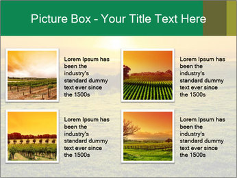 Beautiful Orange Sunrise PowerPoint Template - Slide 14