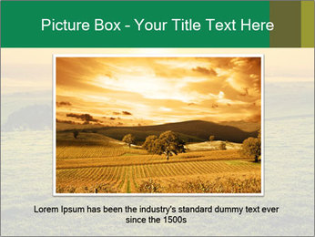Beautiful Orange Sunrise PowerPoint Template - Slide 16