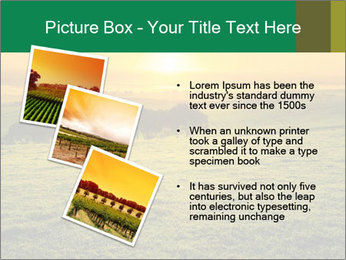 Beautiful Orange Sunrise PowerPoint Template - Slide 17