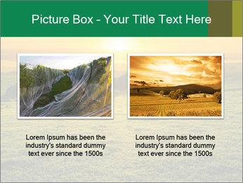 Beautiful Orange Sunrise PowerPoint Template - Slide 18
