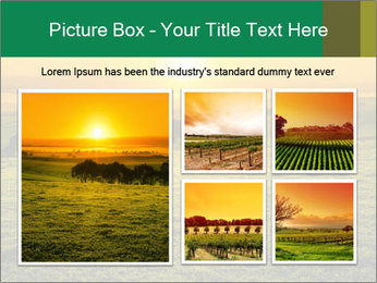 Beautiful Orange Sunrise PowerPoint Template - Slide 19