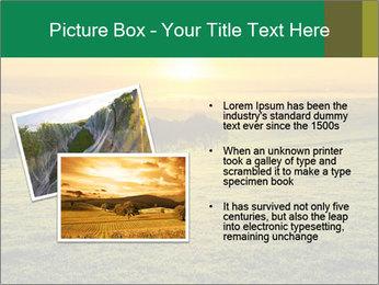 Beautiful Orange Sunrise PowerPoint Template - Slide 20