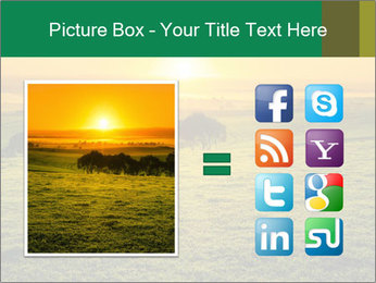 Beautiful Orange Sunrise PowerPoint Template - Slide 21