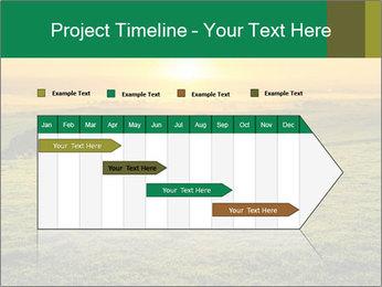 Beautiful Orange Sunrise PowerPoint Template - Slide 25