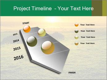Beautiful Orange Sunrise PowerPoint Template - Slide 26