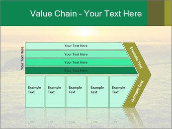 Beautiful Orange Sunrise PowerPoint Template - Slide 27