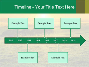 Beautiful Orange Sunrise PowerPoint Template - Slide 28