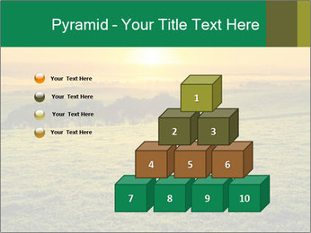Beautiful Orange Sunrise PowerPoint Template - Slide 31