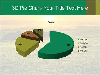 Beautiful Orange Sunrise PowerPoint Template - Slide 35