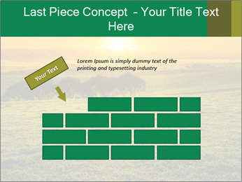 Beautiful Orange Sunrise PowerPoint Template - Slide 46