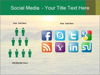 Beautiful Orange Sunrise PowerPoint Template - Slide 5