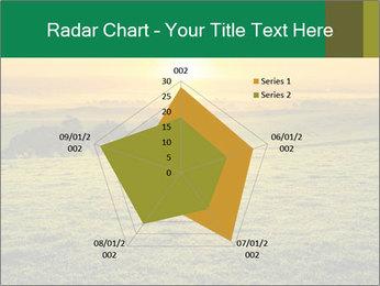 Beautiful Orange Sunrise PowerPoint Template - Slide 51