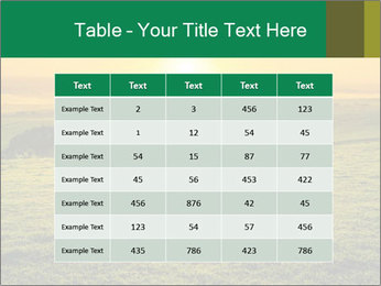 Beautiful Orange Sunrise PowerPoint Template - Slide 55