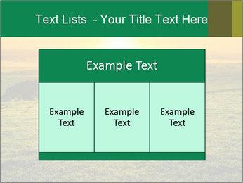 Beautiful Orange Sunrise PowerPoint Template - Slide 59