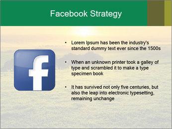 Beautiful Orange Sunrise PowerPoint Template - Slide 6