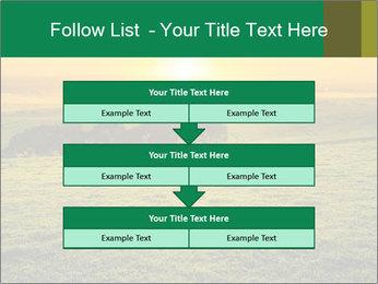 Beautiful Orange Sunrise PowerPoint Template - Slide 60