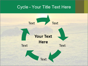 Beautiful Orange Sunrise PowerPoint Template - Slide 62