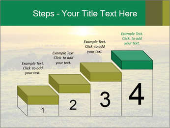 Beautiful Orange Sunrise PowerPoint Template - Slide 64
