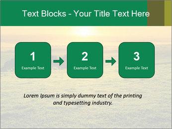 Beautiful Orange Sunrise PowerPoint Template - Slide 71