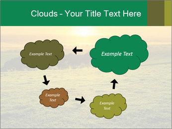 Beautiful Orange Sunrise PowerPoint Template - Slide 72