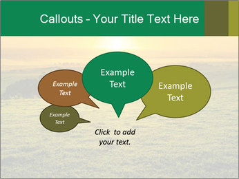 Beautiful Orange Sunrise PowerPoint Template - Slide 73