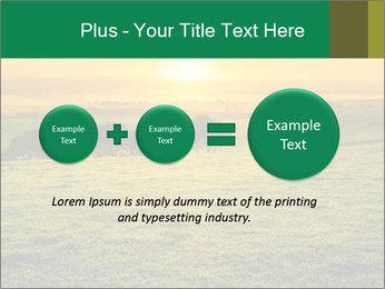 Beautiful Orange Sunrise PowerPoint Template - Slide 75