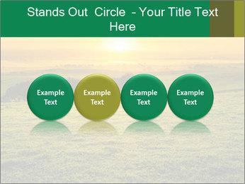 Beautiful Orange Sunrise PowerPoint Template - Slide 76