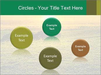Beautiful Orange Sunrise PowerPoint Template - Slide 77