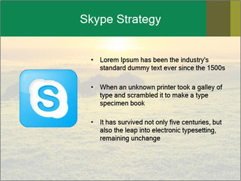 Beautiful Orange Sunrise PowerPoint Template - Slide 8