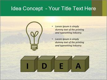 Beautiful Orange Sunrise PowerPoint Template - Slide 80