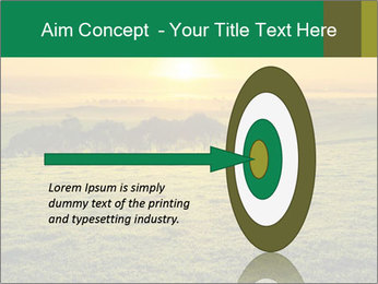 Beautiful Orange Sunrise PowerPoint Template - Slide 83