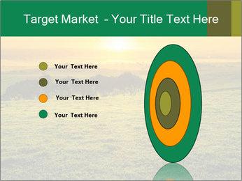 Beautiful Orange Sunrise PowerPoint Template - Slide 84