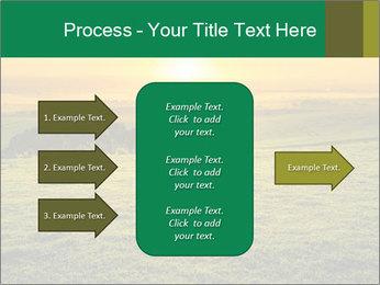 Beautiful Orange Sunrise PowerPoint Template - Slide 85