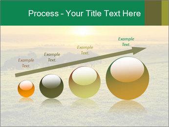 Beautiful Orange Sunrise PowerPoint Template - Slide 87