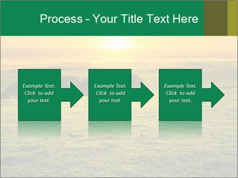 Beautiful Orange Sunrise PowerPoint Template - Slide 88