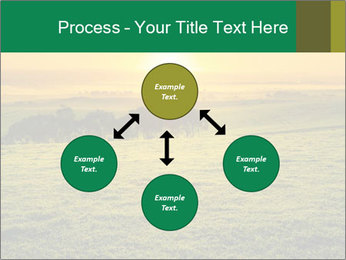 Beautiful Orange Sunrise PowerPoint Template - Slide 91