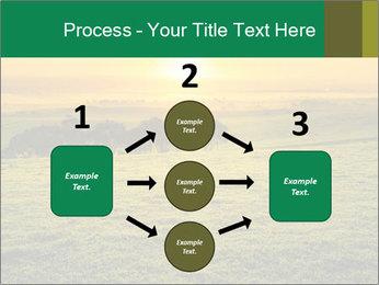 Beautiful Orange Sunrise PowerPoint Template - Slide 92