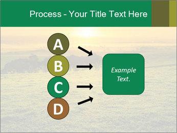 Beautiful Orange Sunrise PowerPoint Template - Slide 94