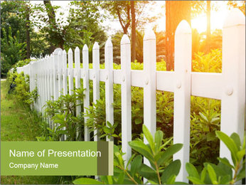 County style PowerPoint Template - Slide 1