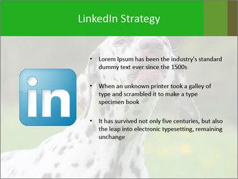 Barking dog PowerPoint Template - Slide 12