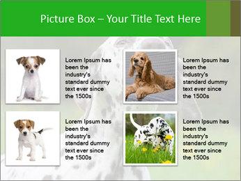 Barking dog PowerPoint Template - Slide 14