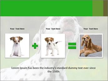Barking dog PowerPoint Template - Slide 22