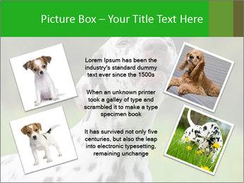 Barking dog PowerPoint Template - Slide 24