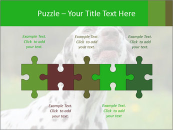 Barking dog PowerPoint Template - Slide 41